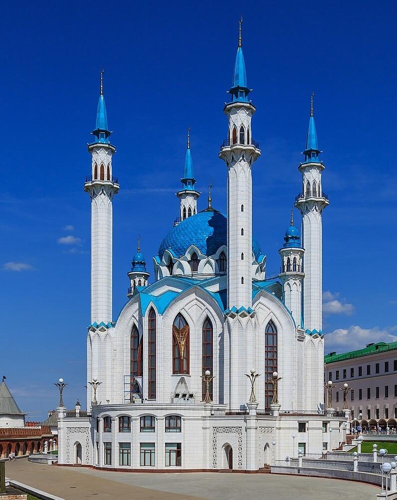 مسجد القول الشريف, Qolsharif Mosque, mosques in russia, مساجد روسيا, كم عدد المساجد في روسيا, مسجد قول شريف, مسجد موسكو الجامع,